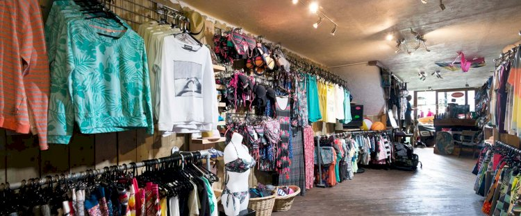 Our beachfront shop is well stocked